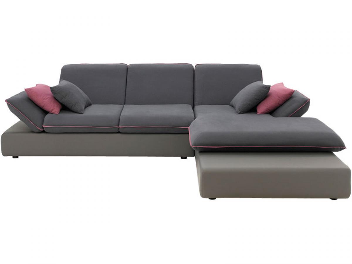 s canapé d angle conforama gris