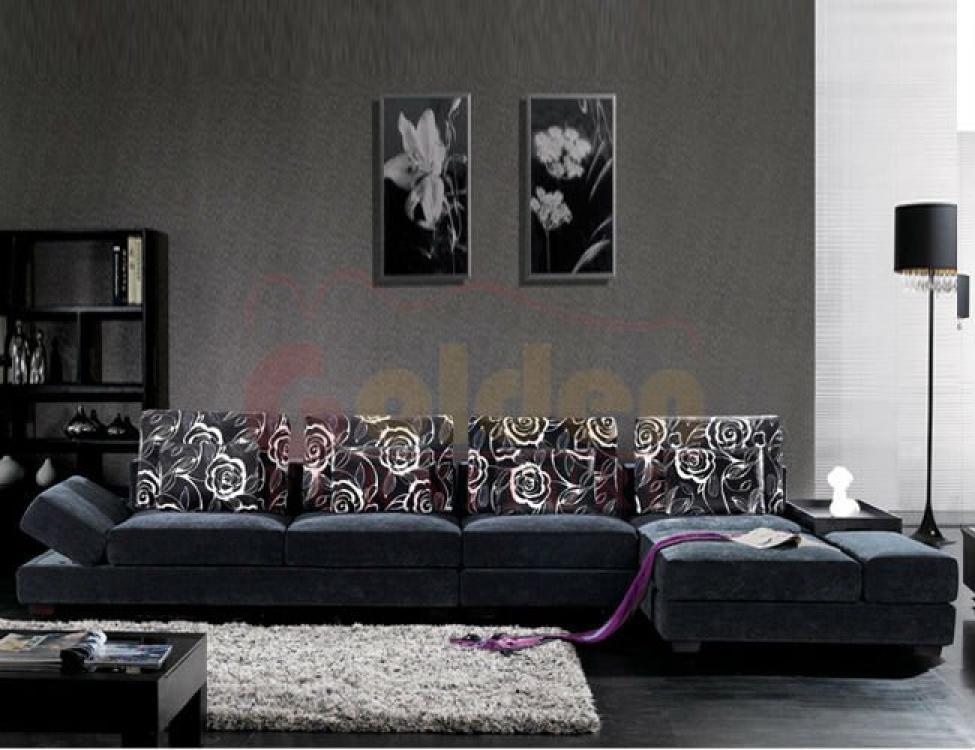 photos canap luxe tissu. Black Bedroom Furniture Sets. Home Design Ideas