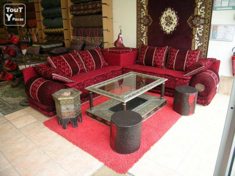 photos canap marocain pas cher. Black Bedroom Furniture Sets. Home Design Ideas