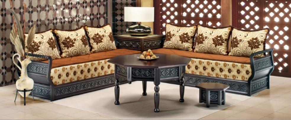 photos canap marocain 2014. Black Bedroom Furniture Sets. Home Design Ideas
