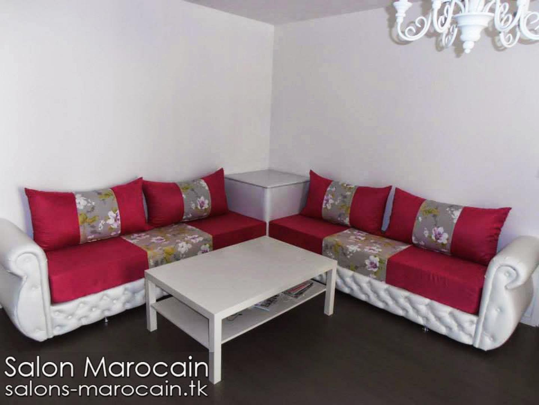 Canapé Marocain Blanc : Photos canapé marocain