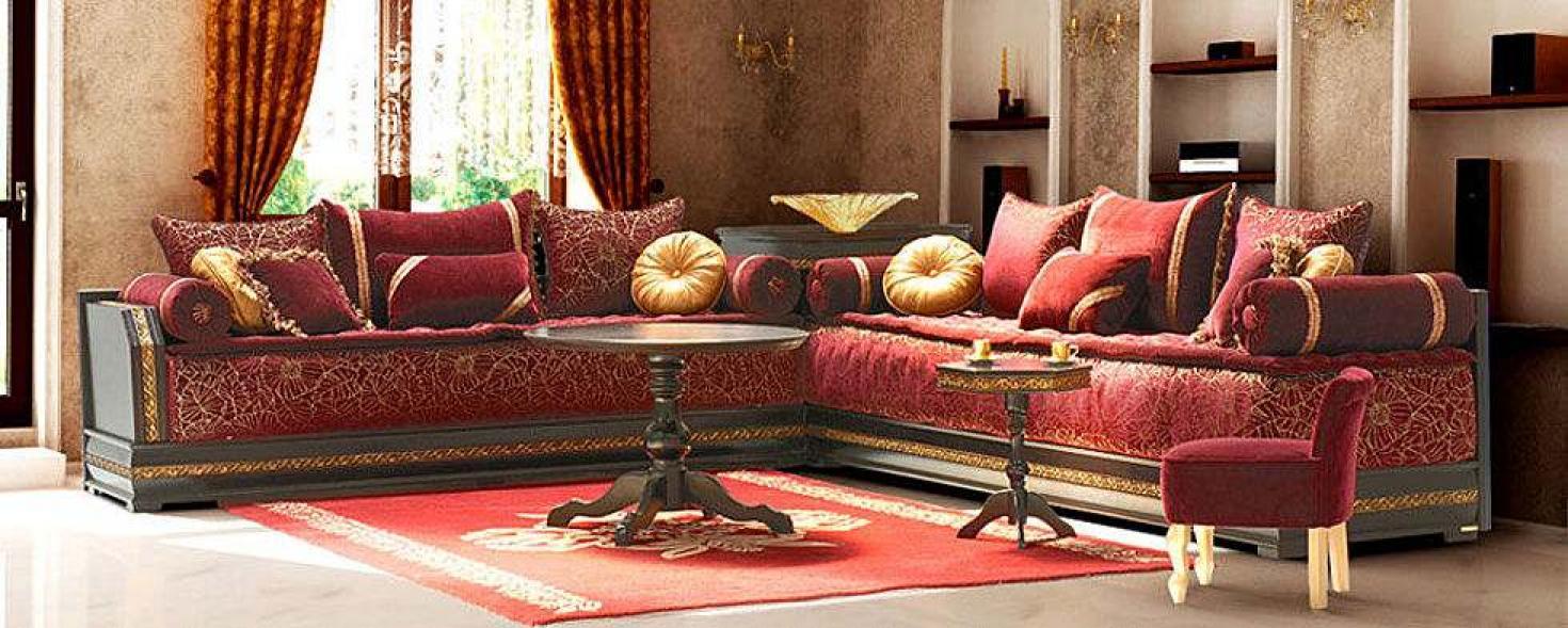 Photos canapé marocain moderne 2013