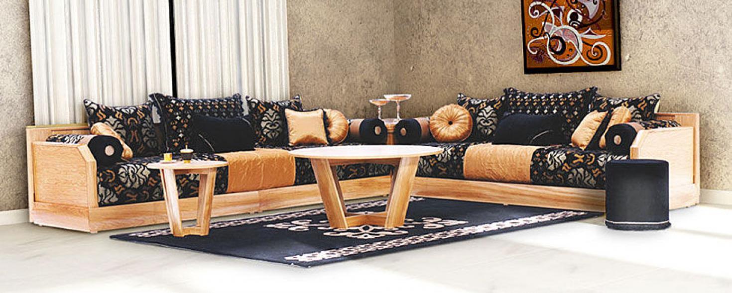 Salon Marocain Moderne Enbois