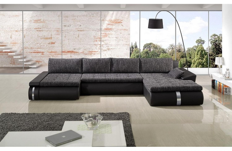 photos canap moderne tissu. Black Bedroom Furniture Sets. Home Design Ideas