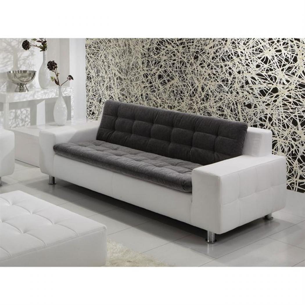 photos canap moderne 3 places. Black Bedroom Furniture Sets. Home Design Ideas