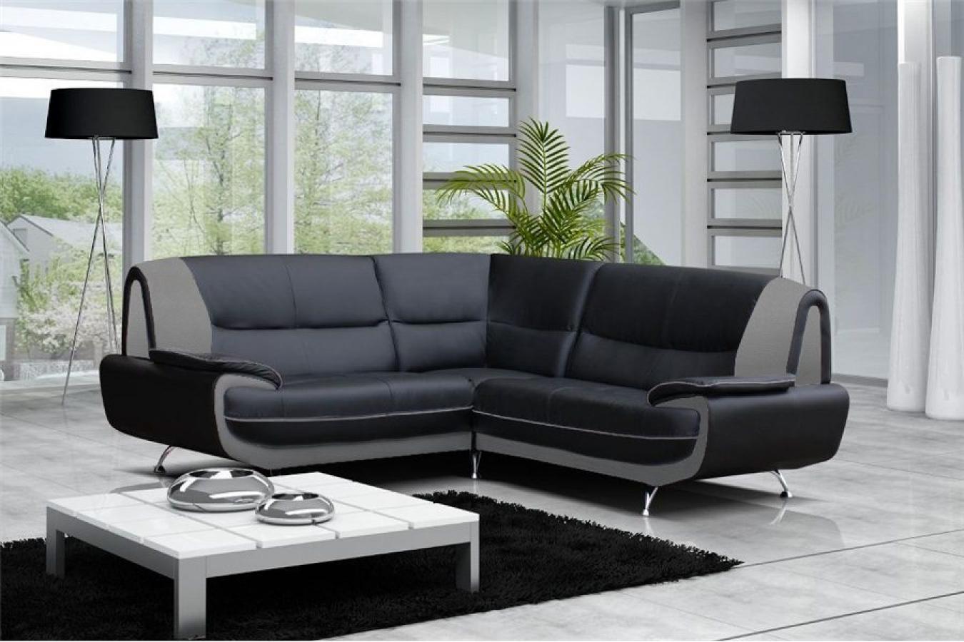 Photos canapé moderne noir