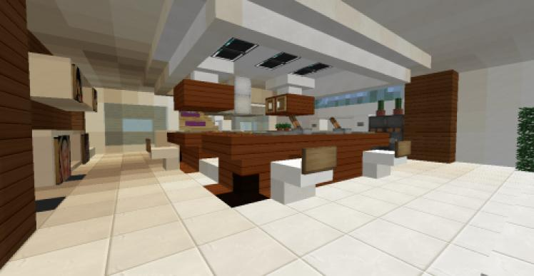 Photos canap moderne minecraft for Cuisine moderne minecraft