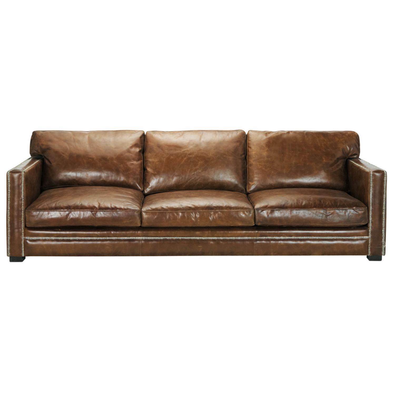 photos canap marron cuir vieilli. Black Bedroom Furniture Sets. Home Design Ideas
