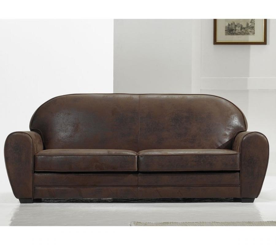 40 incroyable canap cuir vieilli marron phe2 fauteuil - Canape d angle cuir vieilli marron ...