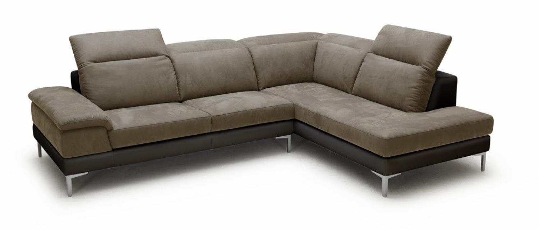 canap microfibre awesome awesome canap microfibre ub design costa places pouf relax droit gris. Black Bedroom Furniture Sets. Home Design Ideas