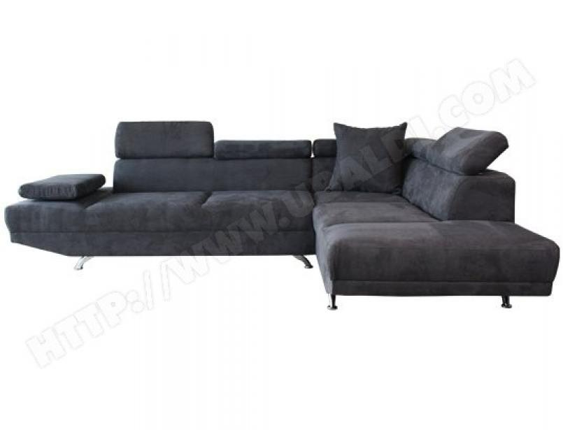 photos canap microfibre gris anthracite. Black Bedroom Furniture Sets. Home Design Ideas