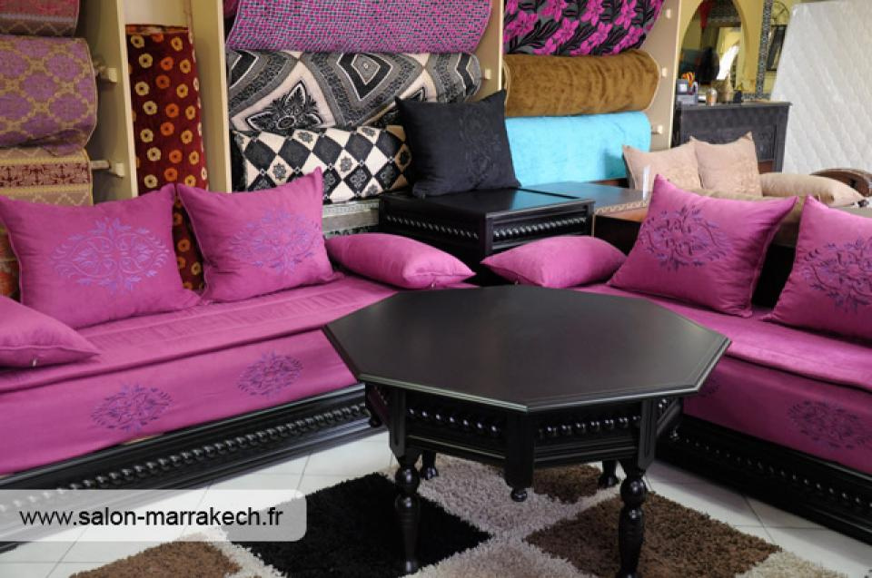 canap marocain moderne des id es novatrices sur la conception et le mobilier de maison. Black Bedroom Furniture Sets. Home Design Ideas