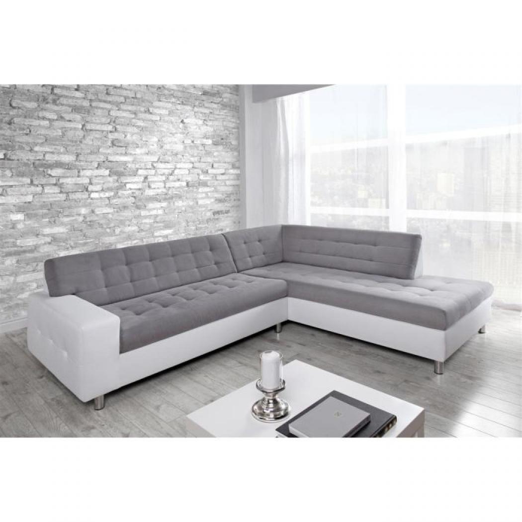 full canape d angle design gris et blanc 9 Résultat Supérieur 1 Merveilleux Canapé D Angle Alcantara Stock 2017 Kqk9