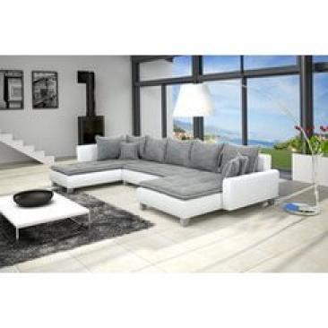 photos canap d 39 angle gris pas cher. Black Bedroom Furniture Sets. Home Design Ideas