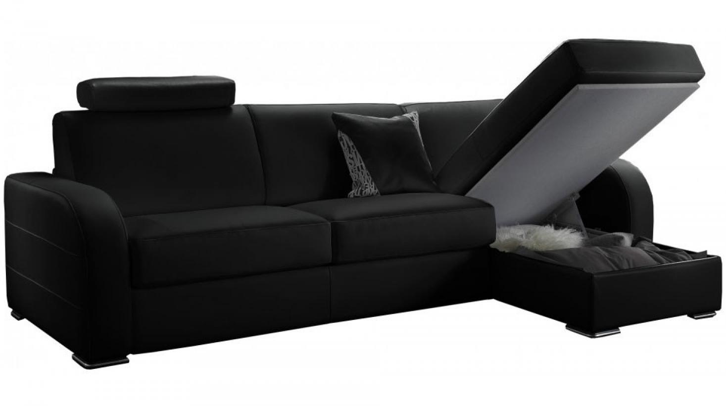 photos canap d 39 angle convertible pas cher en tissu. Black Bedroom Furniture Sets. Home Design Ideas