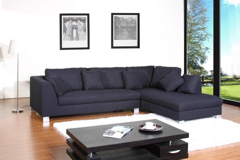canape angle tissu noir: housse de canapé u2013 qualité et design