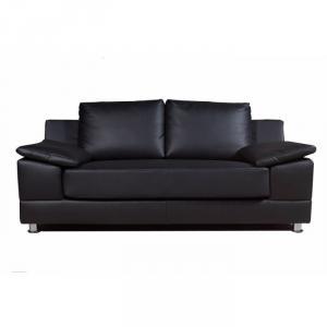 photos canap convertible 2 places simili cuir. Black Bedroom Furniture Sets. Home Design Ideas