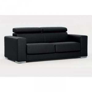 photos canap convertible 2 places simili cuir. Black Bedroom Furniture Sets. Home Design Ideas