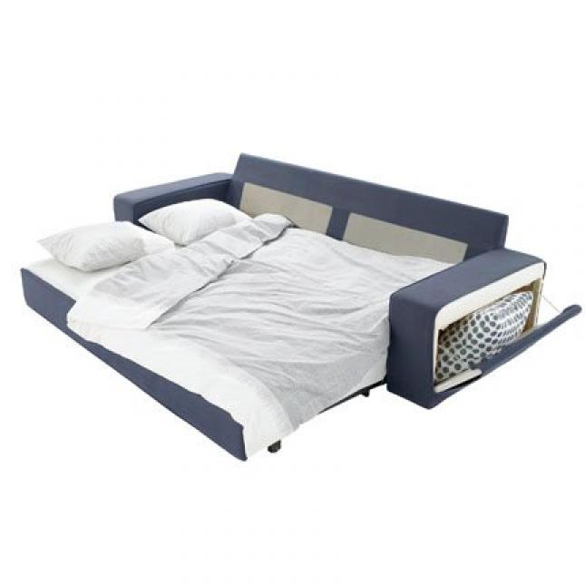 Photos canap convertible ikea 2 places for Divan lit une place