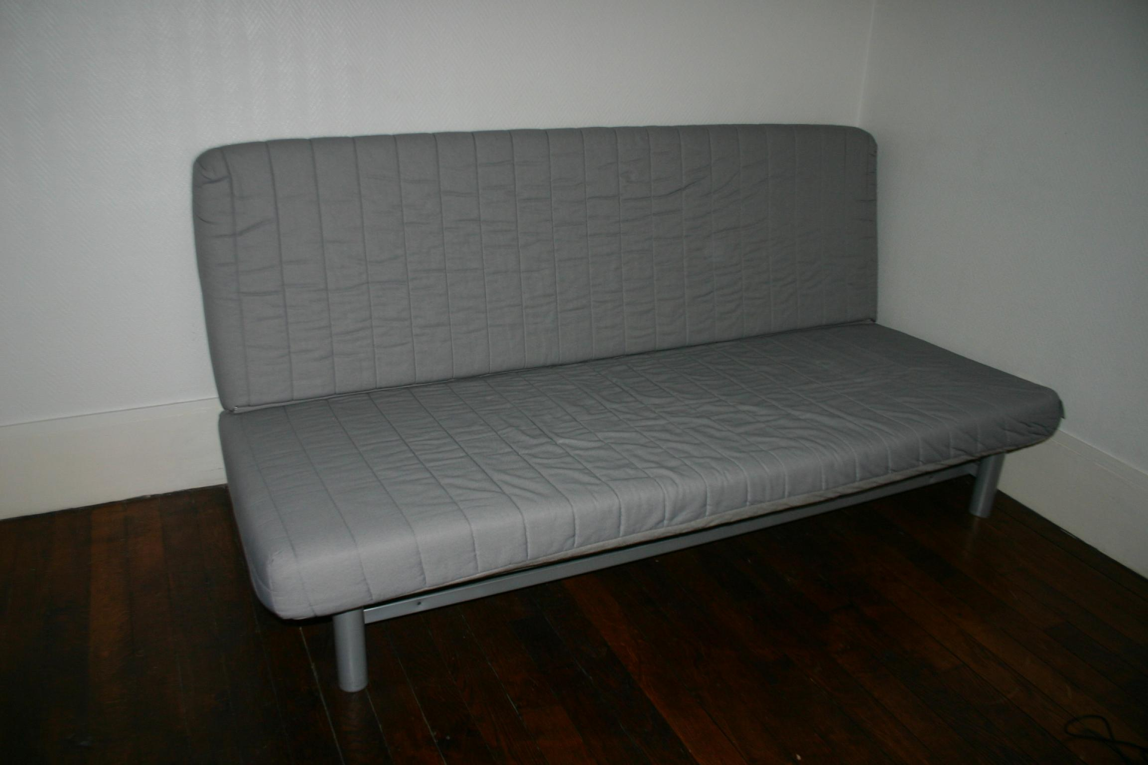 Bz 1 place ikea hereus with bz 1 place ikea bz x for Banquette convertible