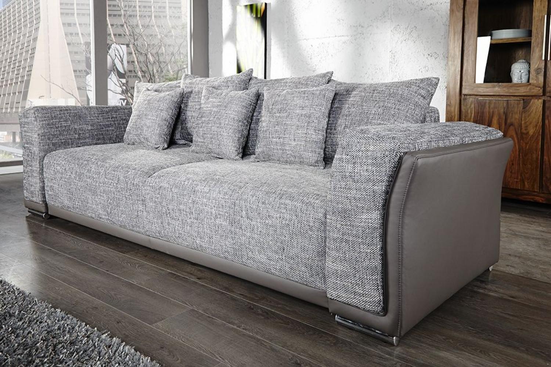 photos canap convertible 3 places gris. Black Bedroom Furniture Sets. Home Design Ideas