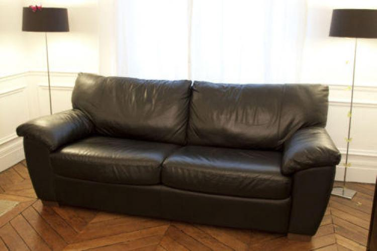 Photos canap convertible cuir ikea - Canape convertible 1 place ikea ...