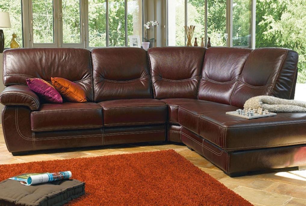 photos canap convertible cuir conforama. Black Bedroom Furniture Sets. Home Design Ideas