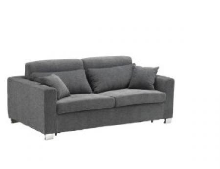 photos canap convertible gris chin. Black Bedroom Furniture Sets. Home Design Ideas