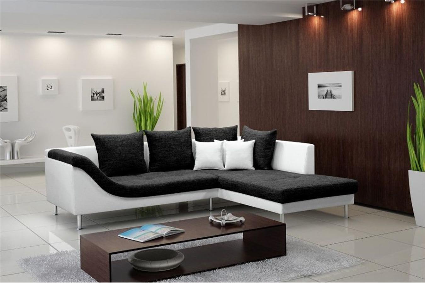 photos canap design pas cher noir et blanc. Black Bedroom Furniture Sets. Home Design Ideas