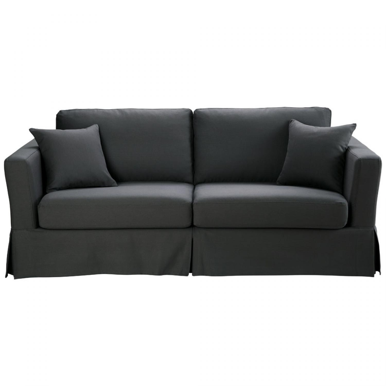 photos canap convertible gris. Black Bedroom Furniture Sets. Home Design Ideas