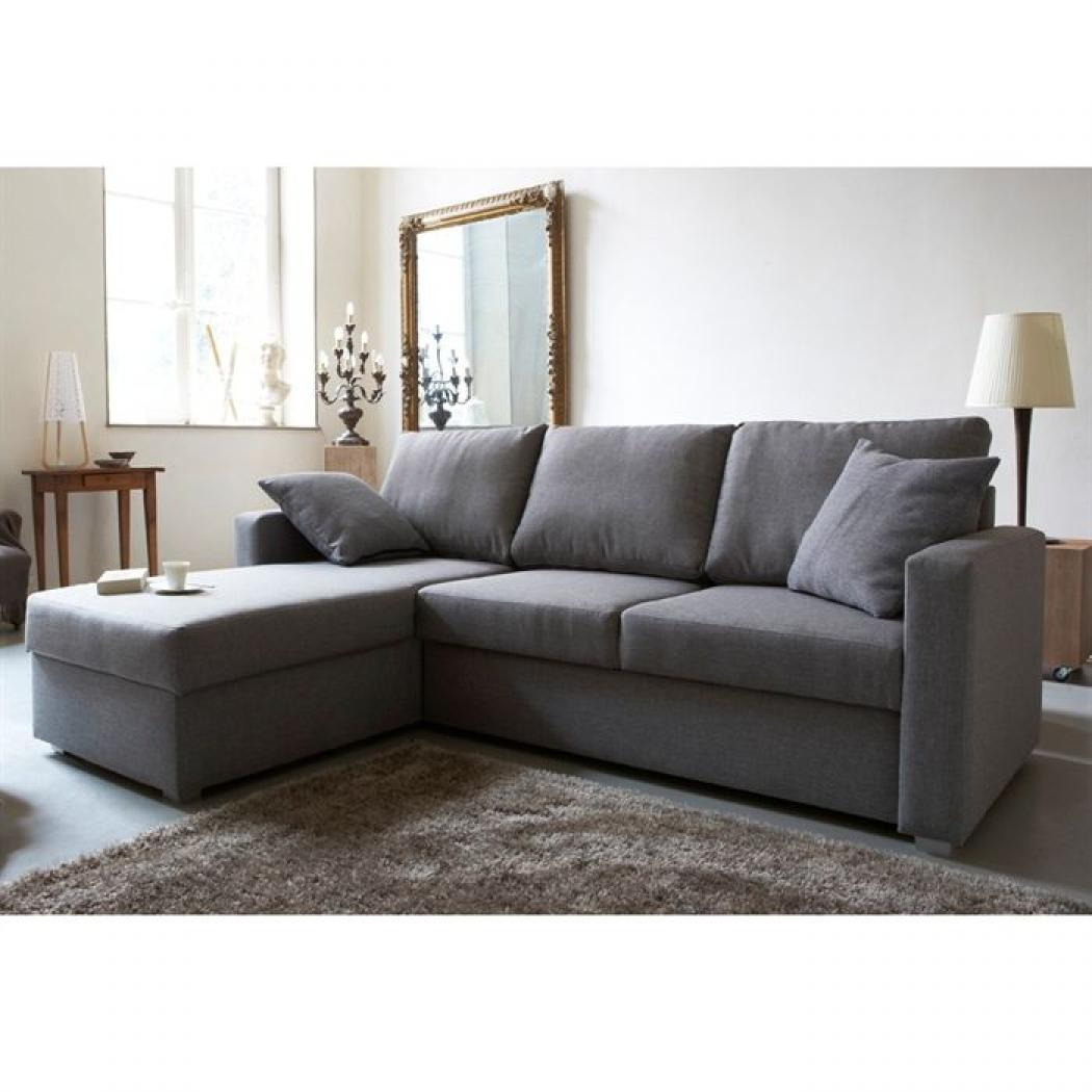 Photos canap convertible gris - Habitat canape convertible ...