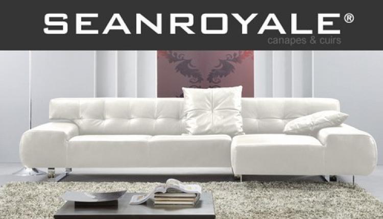 Photos canap design cuir blanc for Renover canape cuir blanc