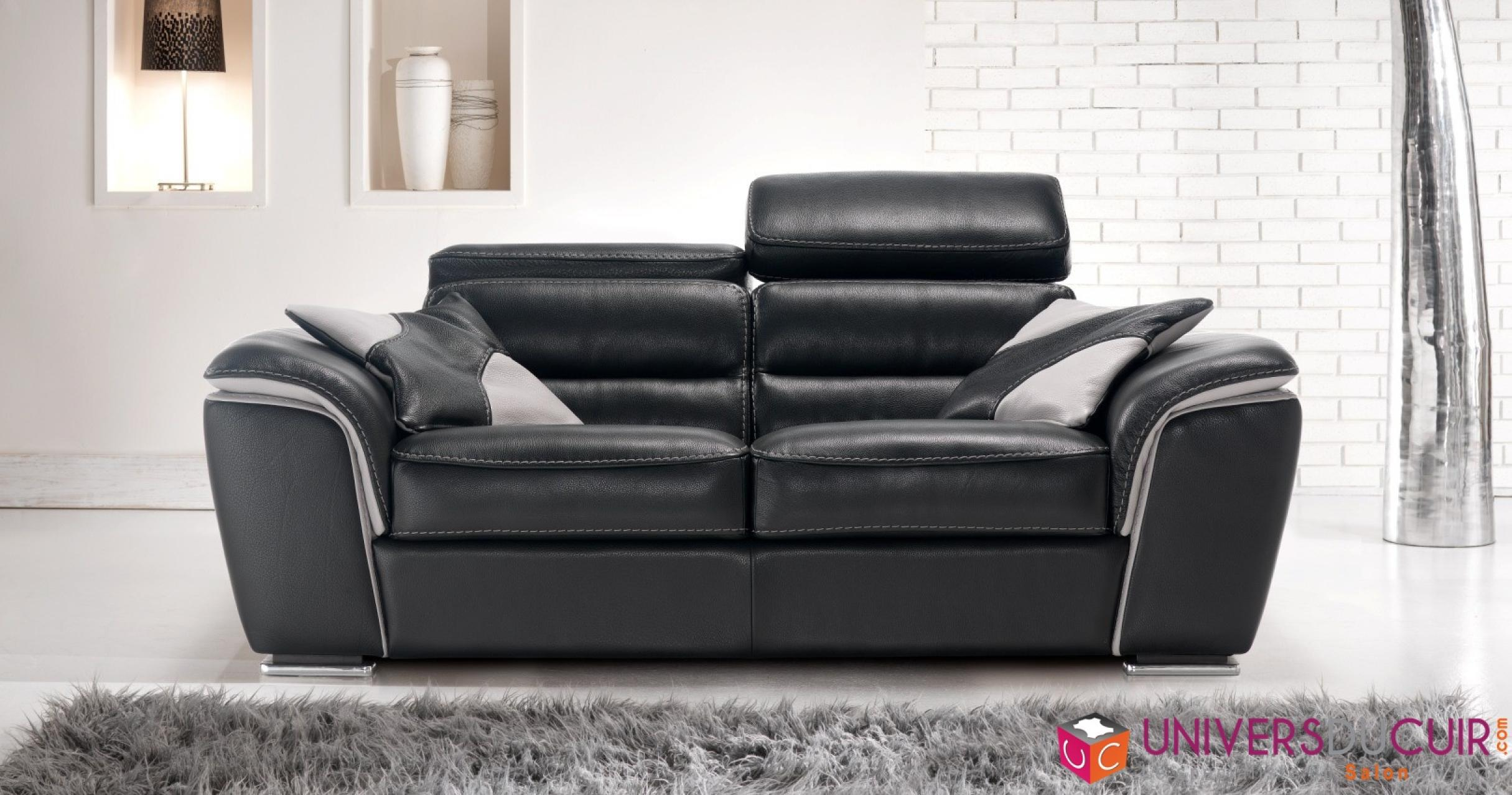 photos canap design cuir haut de gamme. Black Bedroom Furniture Sets. Home Design Ideas