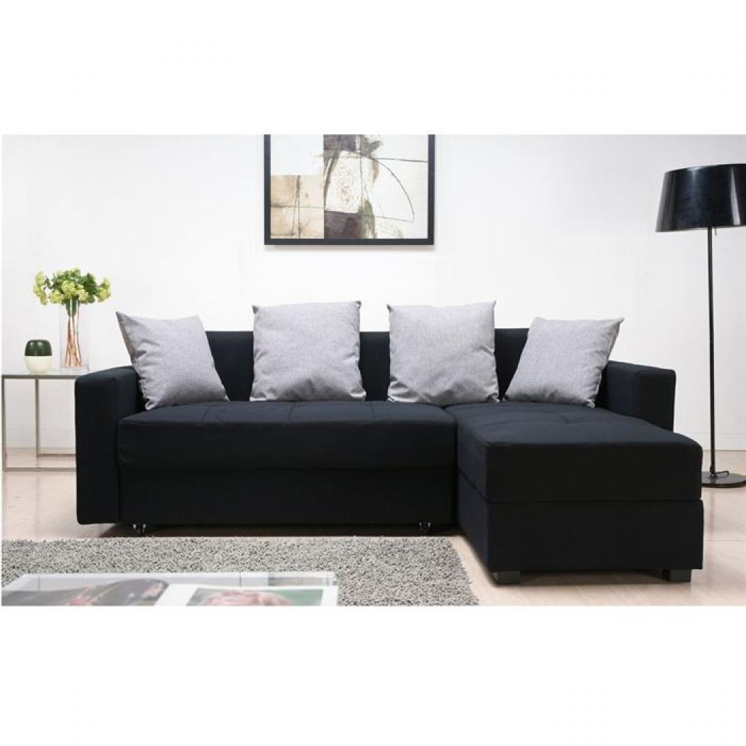 photos canap convertible angle. Black Bedroom Furniture Sets. Home Design Ideas
