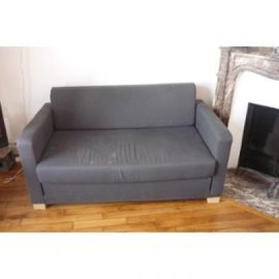 photos canap lit ikea solsta. Black Bedroom Furniture Sets. Home Design Ideas