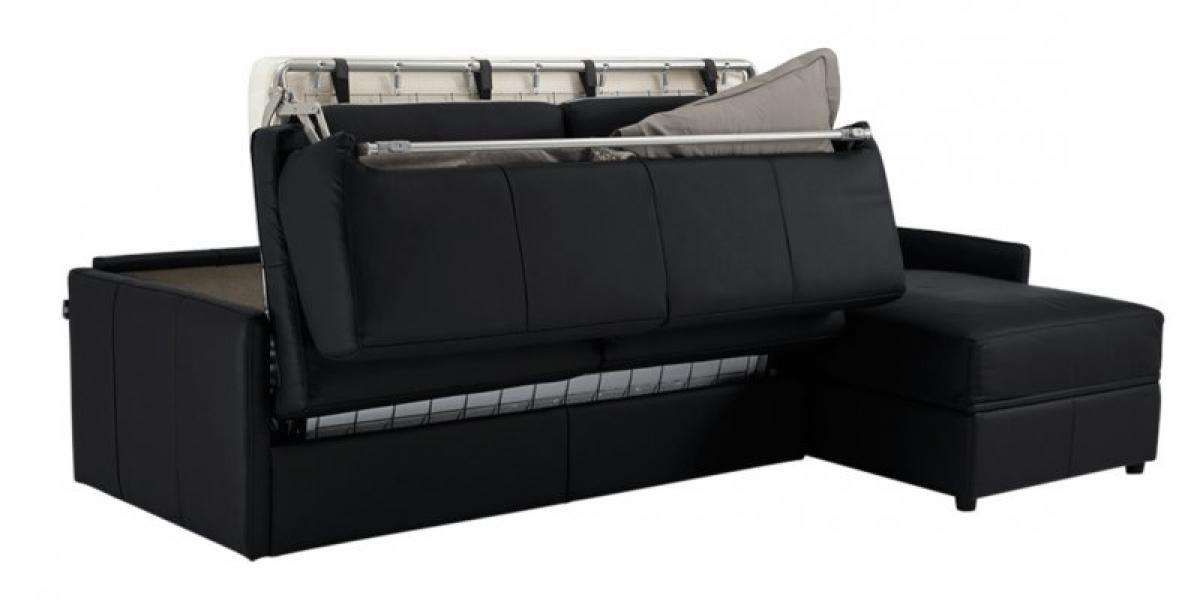 canape convertible avec vrai matelas maison design. Black Bedroom Furniture Sets. Home Design Ideas