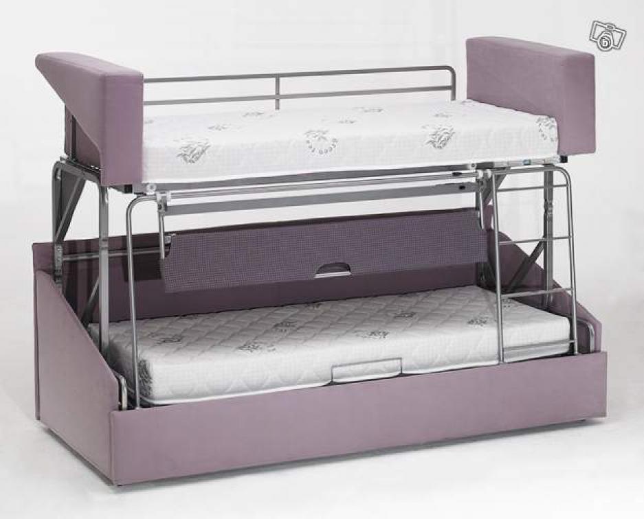 photos canap lit superpos prix. Black Bedroom Furniture Sets. Home Design Ideas