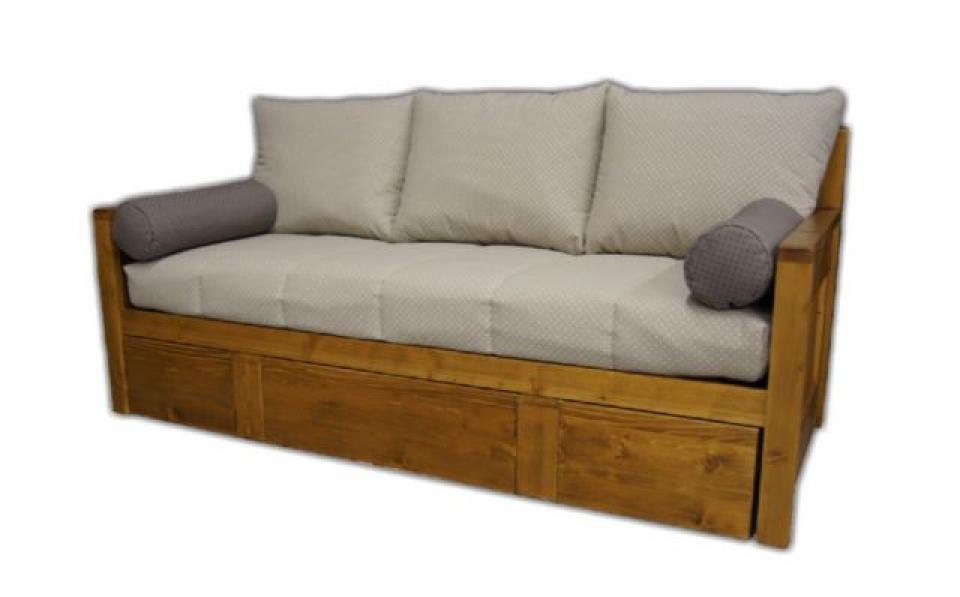 photos canap lit gigogne bois. Black Bedroom Furniture Sets. Home Design Ideas