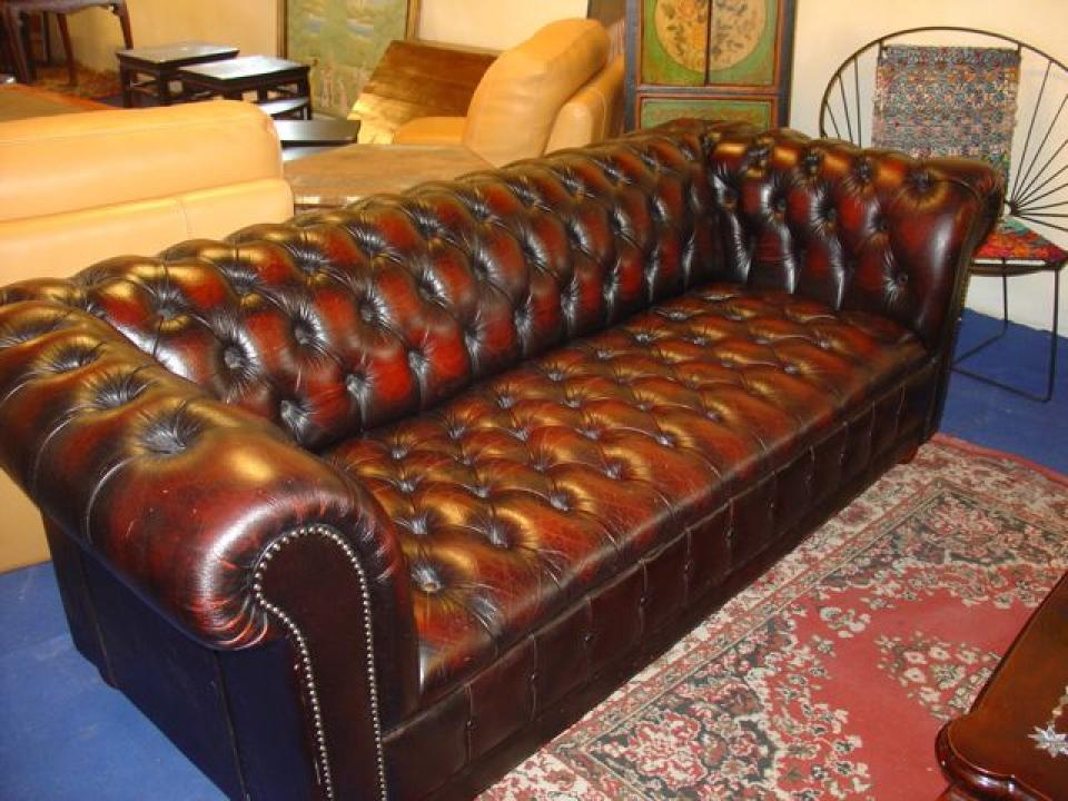 Photos Canape Chesterfield Cuir Occasion