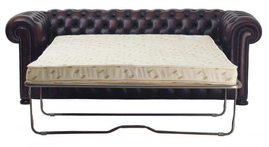Photos canap chesterfield cuir convertible for Canape chesterfield cuir