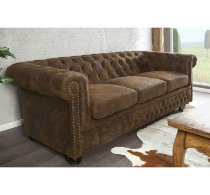 Photos canap chesterfield tissu convertible - Canape chesterfield tissus ...