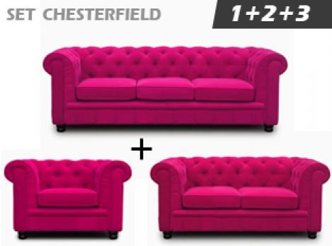 Photos canapé chesterfield velours violet