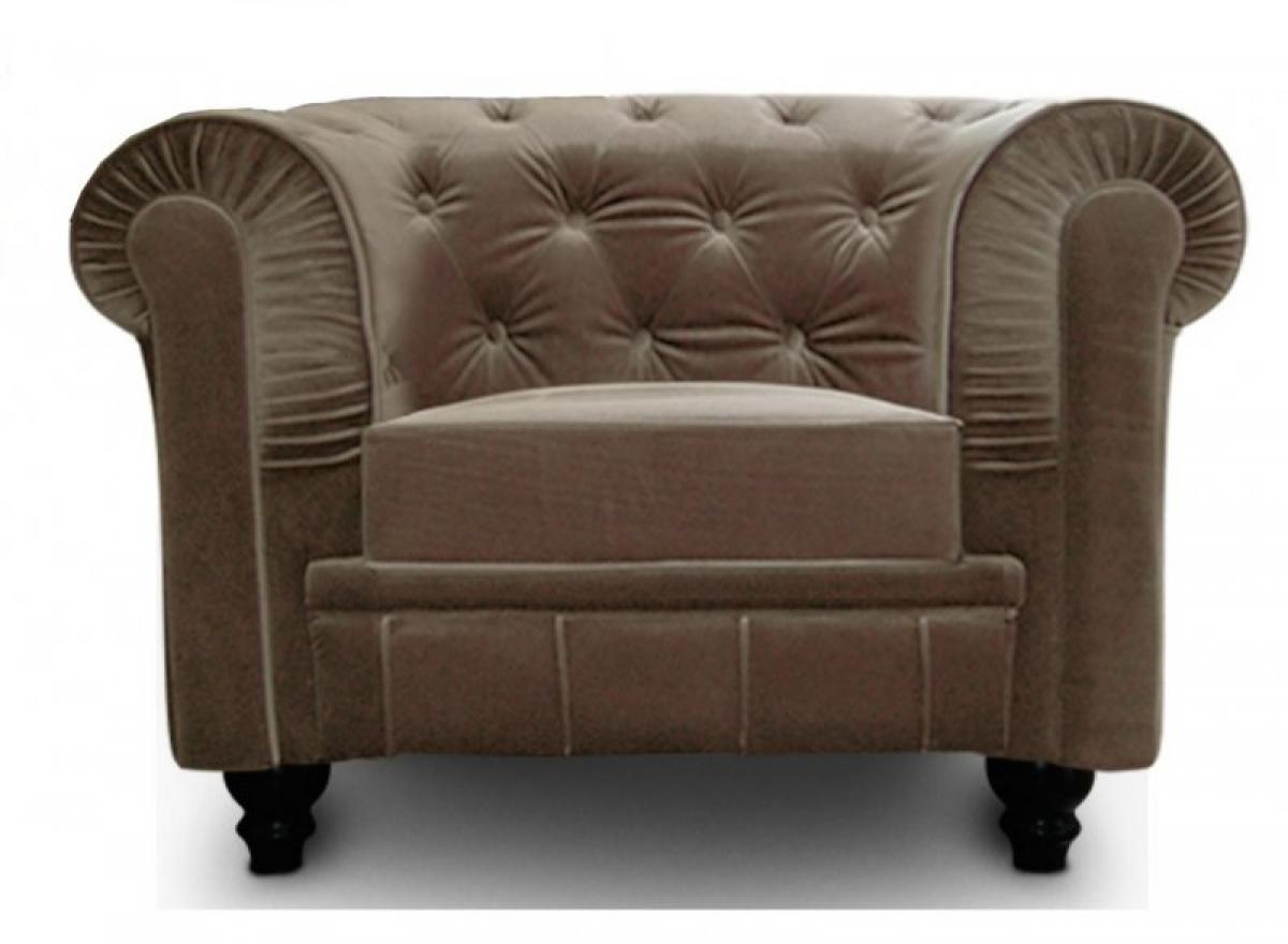 Photos canap chesterfield velours taupe for Canape chesterfield velours