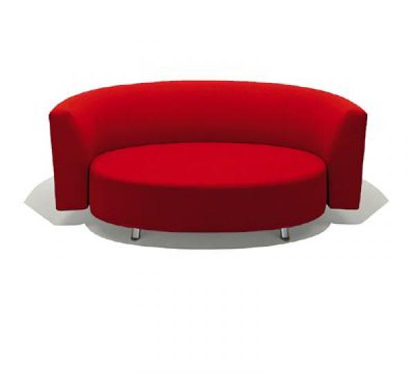 Photos canap design rond for Lit rond ikea