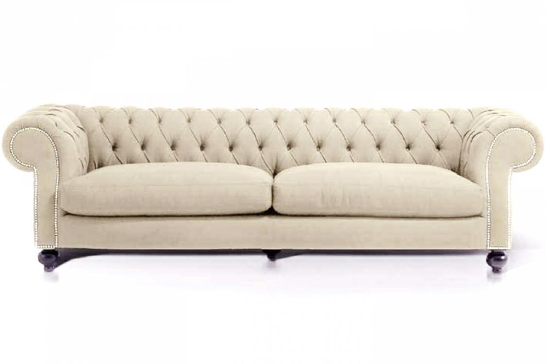 Canap chesterfield convertible velours for Canape chesterfield