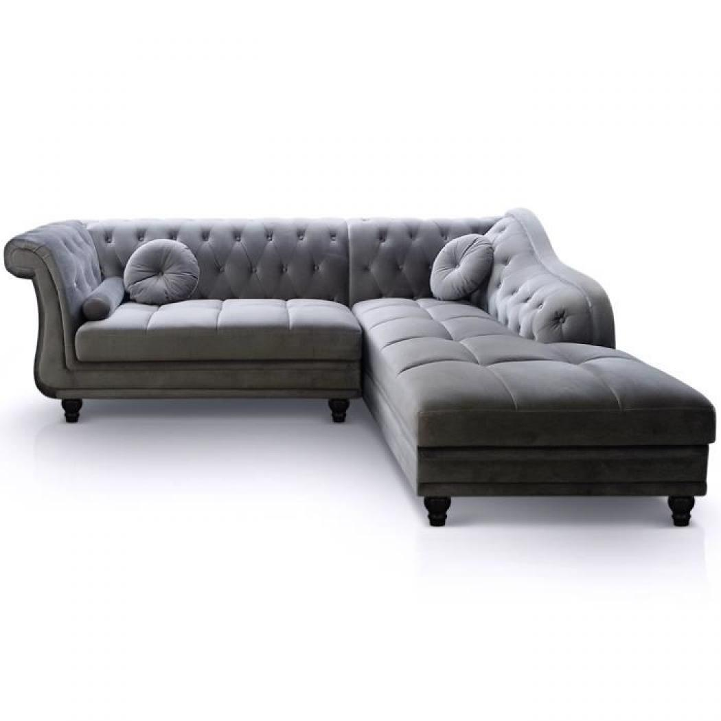 Photos canap chesterfield velours pas cher for Canape chesterfield cuir pas cher