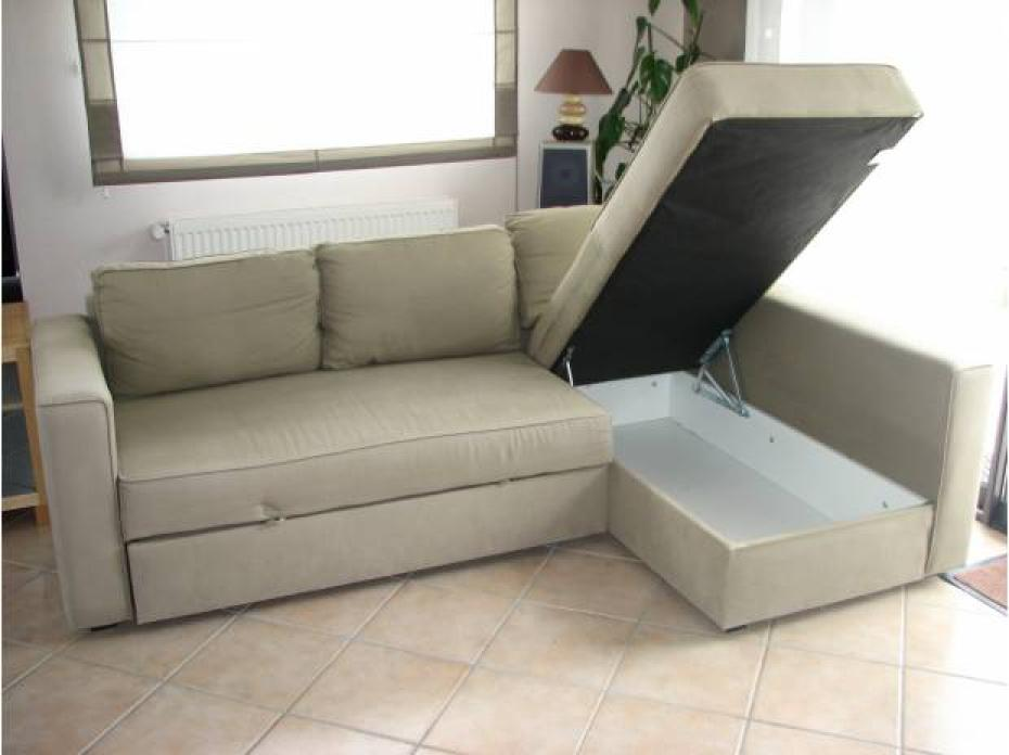 Photos canap d 39 angle convertible ikea manstad for Ikea canape angle