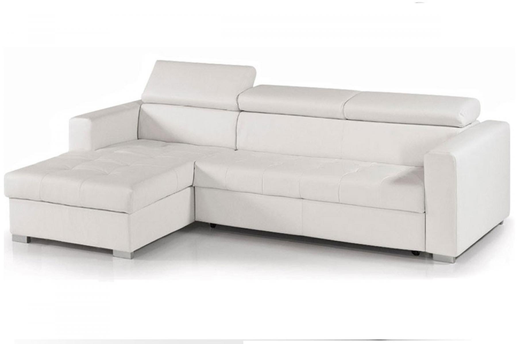 photos canap d 39 angle convertible cuir blanc. Black Bedroom Furniture Sets. Home Design Ideas