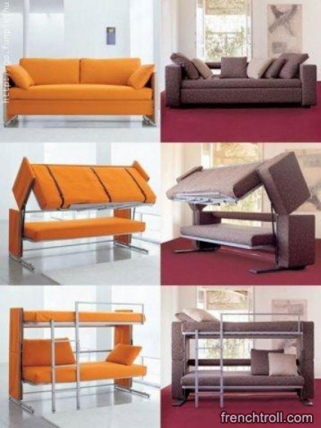 Photos canap lit superpos - Lit superpose avec canape ...