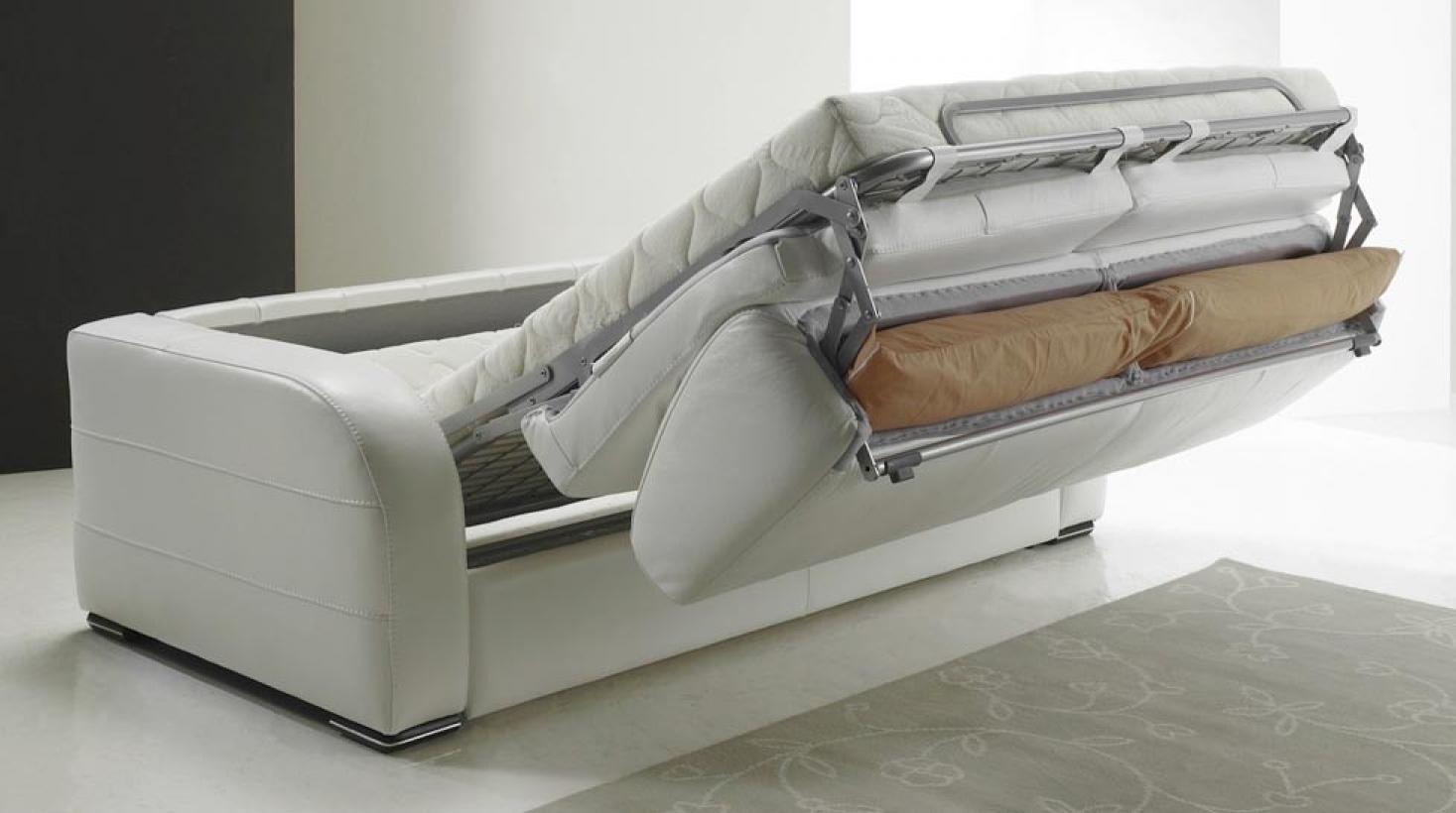 Canape convertible quotidien maison design for Conforama canape lit convertible